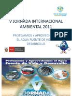 V Jornada Internacional Ambiental 2011