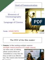 Elements of Cinematography