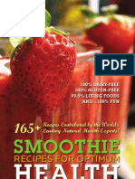 Smoothies for Optimum Health