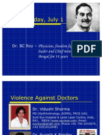 Violence Against Doctors Dr Vidushi Sharma &; Dr Suresh K Pandey, KOTA INDIA