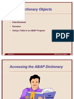 02_ABAP Dictionary Objects