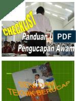 CD 3 Public Speaking