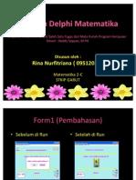 Program Matematika