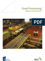 Indian Food Procession Industry Report