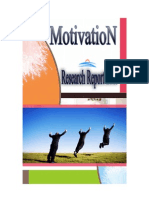 Motivation Research Report 2009