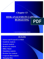 Chapter 13 Risk Analysis in Capital Budgeting