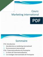 Cours Marketing International 2