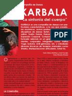 Compañia Karbala TeatroDanza-Revista Talay de Junio 2011- Menorca