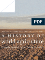 A History of World Agriculture From the Neolithic Age to the Current Crisis