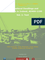 Early Medieval Dwellings and Settlements in Ireland, AD 400-1100, Volume 1