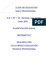 Planificacion-E.E.T N° 1 2013