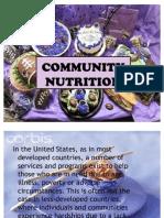 Community Nutrition
