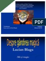 Lucian Blaga-Mit Si Magie