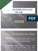 Sejarah Kebudayaan Islam