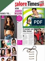 Nidhi Hottest Female Award TOIBG 2011 7-1-25