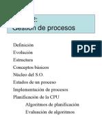 Tema2 - Gestion de Procesos