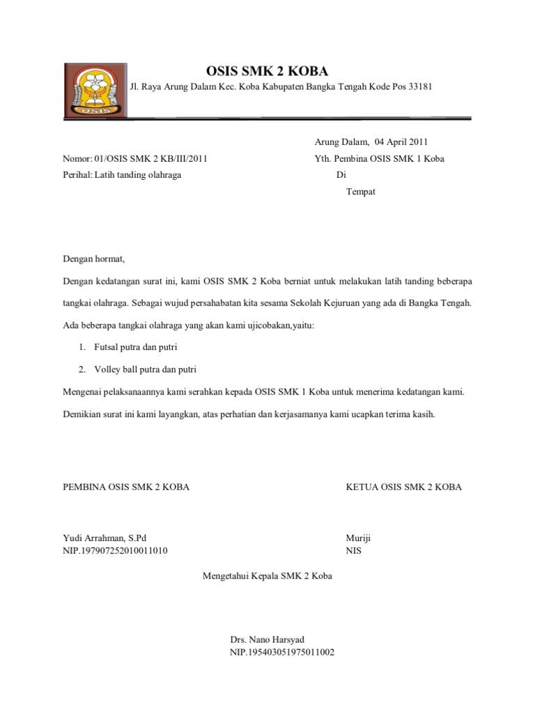 Surat Sparing
