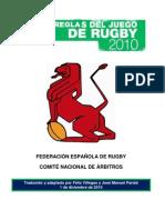 Reglamento de Rugby 2011