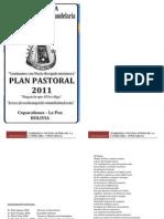 Plan Pastoral 2011