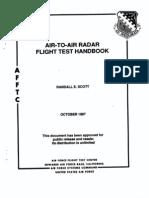 Air to Air Radar Flight Test Handbook AFFTC-TIH-87-001