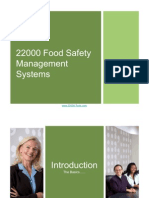 Introduction to ISO 22000