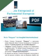 Comisia Europeana Si Parlamentul European