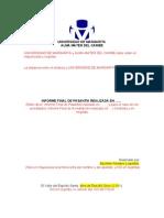 Informe de Pasantas (MODELO) 2011