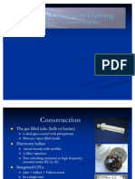 Presentation Compact fluorescent lighting CFL construction and working and comparison