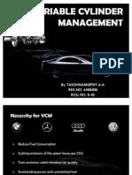 Variable Cylinder Management
