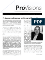 Fr. Laurence Freeman on Ramana Maharshi - Provisions Apr May 07