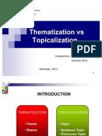 Thematization vs Topicalization Final
