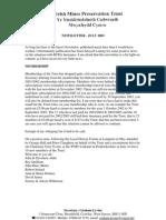 Welsh Mine Preservation Trust Newsletter July 2003