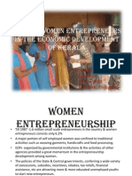 Role of Women Entrepreneurs in the Economic Development