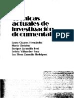 Tecnicas Actuales de Investigacion Intro