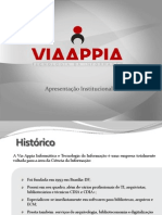 apresentação Institucional via appia
