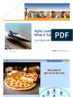 Agile Leadership - Jim Highsmith
