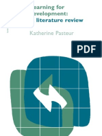 Learning for Development_Literature Review
