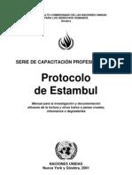 Manual Protocolo de Estambul