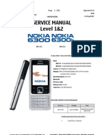 Nokia 6300 Service Manual Doc1