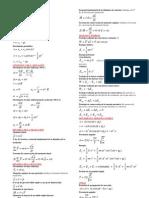 formulario fisica 2º bachillerato