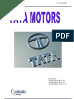 Tata Motors - Project