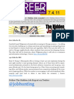 The Hidden Job Report for 7.4.11
