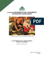 Informe CEACCU del Sobreendeudamiento de las Familias