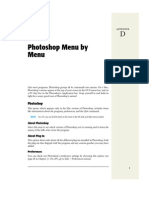 Photoshop Menu by Menu