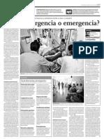 Caso de Urgencia o emergencia