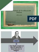 Desarrollo de la educación publica chilena