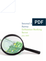 Internal Audit Survey Lithuanian Banking Sector
