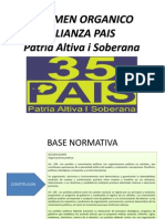 ESTATUTOS ALIANZA PAIS 2