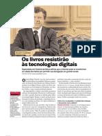 Chartier e o Livro Digital-tradicional