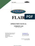Mark Roberts Motion Control FLAIR MANUAL